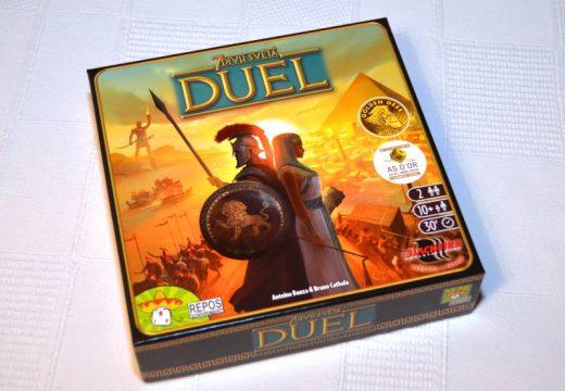 Úspěšná hra 7 divů světa je nyní pro dva jako DUEL