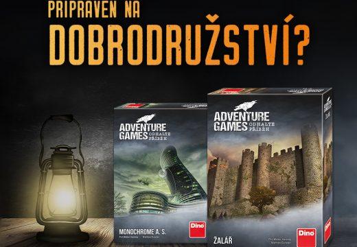 Dino již má skladem napínavé Adventure Games