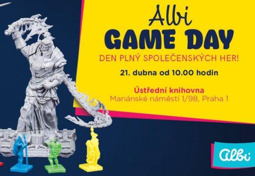 Pozvánka: Přijďte 21. dubna na Albi Game Day a vyzkoušejte novinky