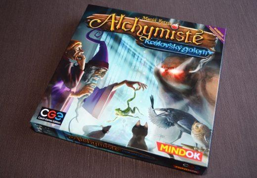 Alchymisté a královský golem aneb nové výzvy pro náročné hráče