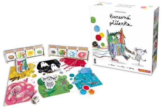 Barevná příšerka je nová dětská hra od MindOKu