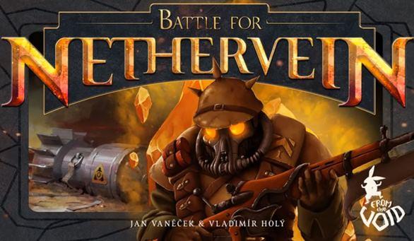 Hra Battle for Nethervein od Honzy Vaněčka je na Kickstarteru