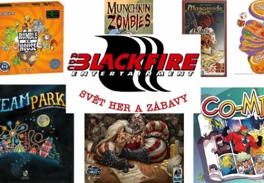 Blackfire oznámil přípravu sedmi nových her