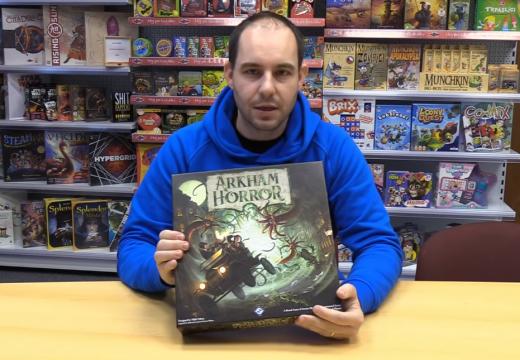 Blackfire v roce 2019 vydá Arkham Horror 3. edici a další novinky