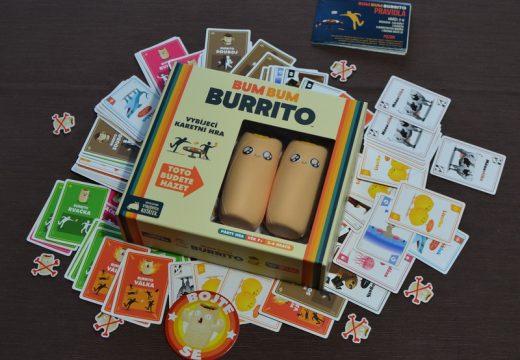 Chcete něco ztřeštěného, vyzkoušejte Bum Bum Burrito
