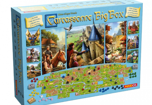 Recenze: Carcassonne Big Box