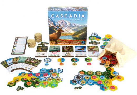 MindOK připravuje rodinnou hru Cascadia