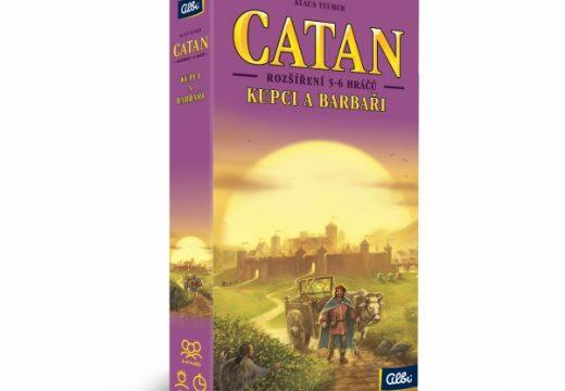 Hru Catan: Kupci a barbaři si zahrajete až v 6 hráčích
