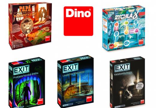 Dino přinese nové Exity, ale i rodinné hry