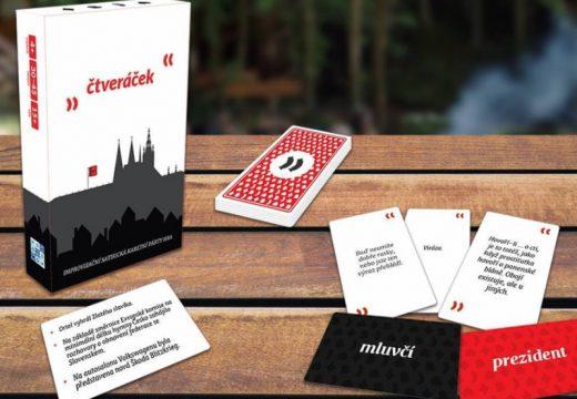 Soutěž o satirickou karetní párty hru Čtveráček