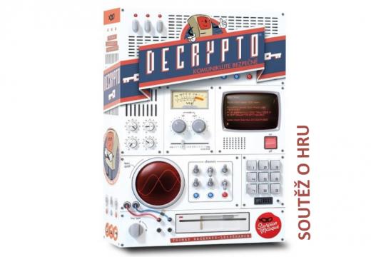 Soutěž o párty hru Decrypto