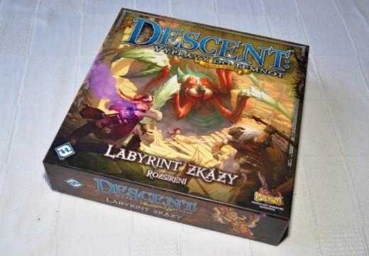 Labyrint zkázy je první české rozšíření hry Descent: výpravy do temnot