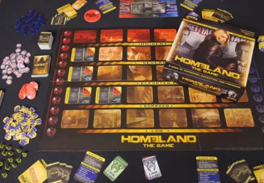 Deskofobie představila Homeland: The Game