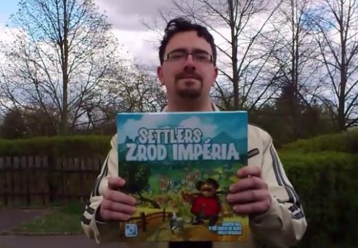 Videosehrávka hry Settlers: Zrod impéria hráče Kubrta