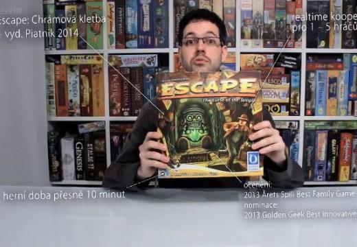 Deskoherna představuje akční Escape