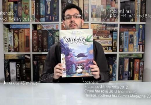 Deskoherna představuje hru Takenoko