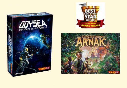 Jaké hry získaly ceny Dice Tower 2020