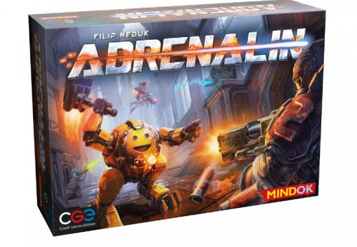 Adrenalin je akční souboj v postapokalyptické aréně