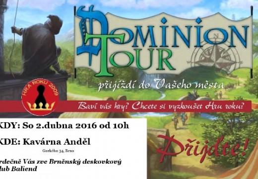 Pozvánka: Dominion Tour pokračuje v Brně
