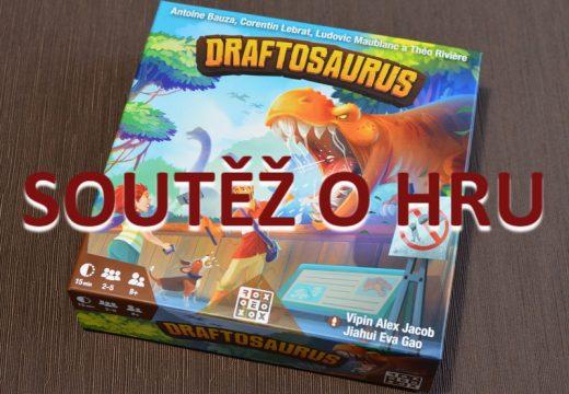Soutěž o hru Draftosaurus