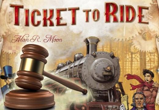 Dražba hry Ticket to Ride