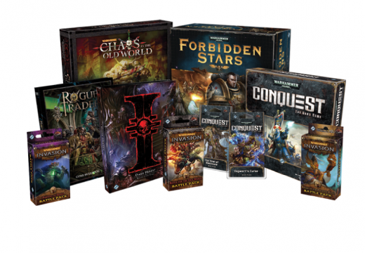 Fantasy Flight Games již nebude vydávat hry v licenci od Games Workshop