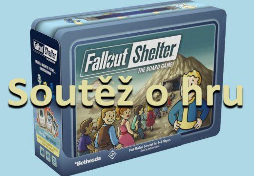 Soutěž o hru Fallout Shelter