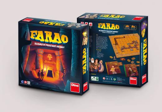 Dino s CBG připravují novou českou hru Farao