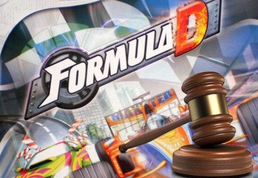 Dražba hry Formula D
