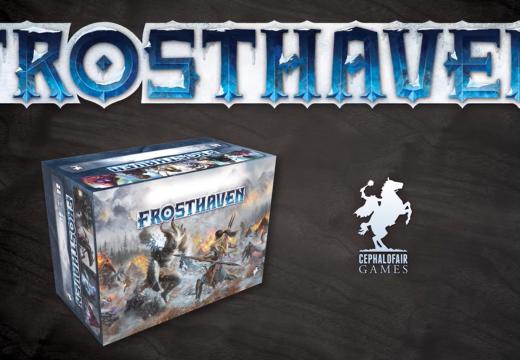 Frosthaven má raketový start na Kicksterteru a vyjde i v češtině