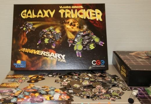 Recenze: Galaxy Trucker