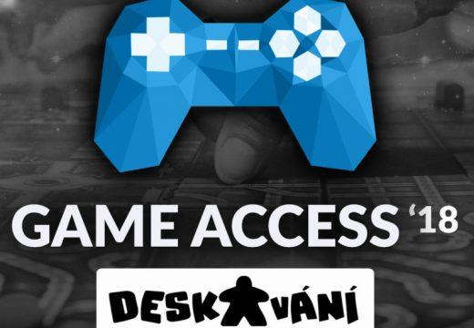 Pozvánka: Game Access 2018 v Brně 1.–3. června