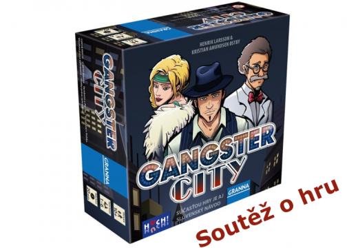 Soutěž o hru Gangster City