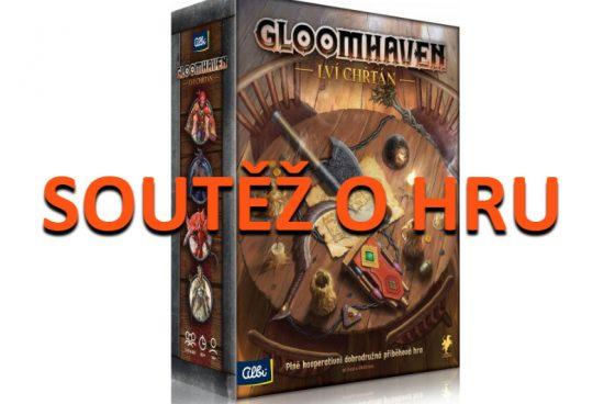 Soutěž o hru Gloomhaven: Lví chřtán