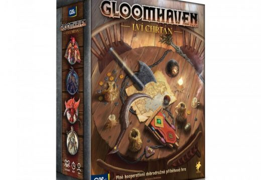 Objevte svět hry Gloomhaven s variantou Lví chřtán