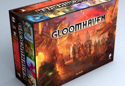 Na jaře 2019 vyjde v češtině oceňovaná hra Gloomhaven