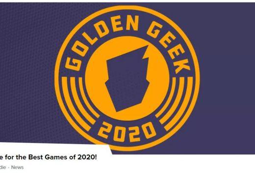 Jaké jsou nominace na cenu Golden Geek 2020