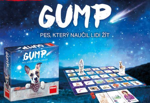 Dino má novinku GUMP: Pes, který naučil lidi žít
