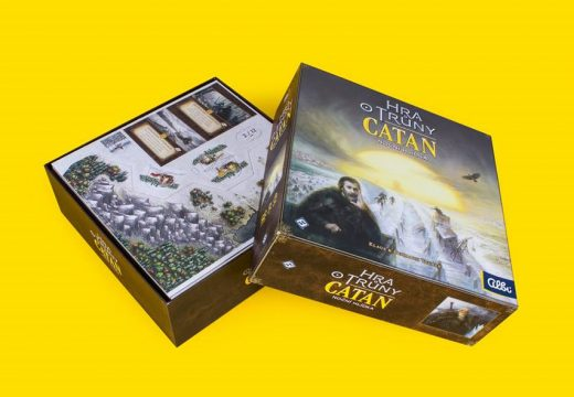 Hra o trůny: Catan je nová hra z rodiny Osadníků z Katanu