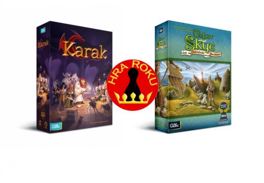 Hrou roku 2018 je Ostrov Skye a Dětskou hrou roku Karak