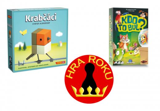 Cenu Hra roku 2019 získali Krabčáci a Dětskou hru roku Kdo to byl?