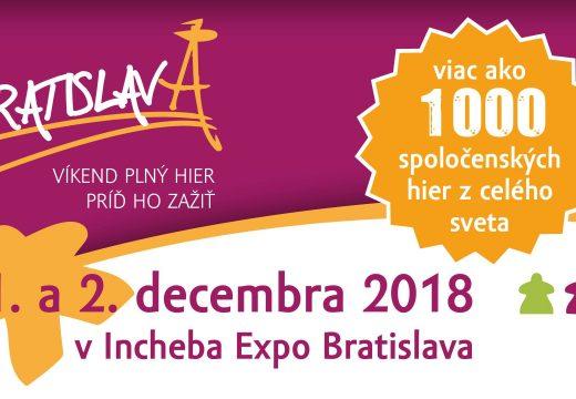 Pozvánka: V Bratislavě se tento víkend koná HRAtislava