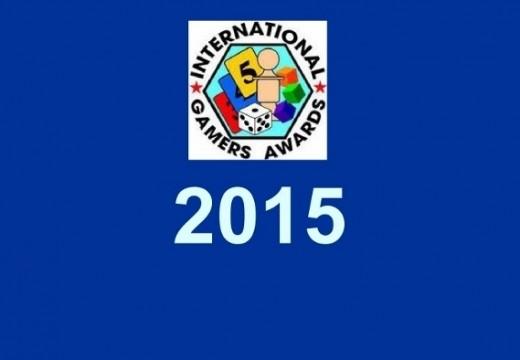 Jaké jsou nominace na International Gamers Awards 2015