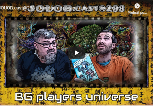 JOUOB.cast@288: Boardgame players universe