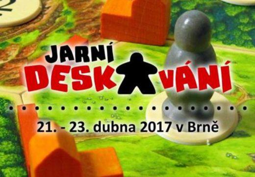 Pozvánka: Jarní deskování v Brně 21.–23. dubna