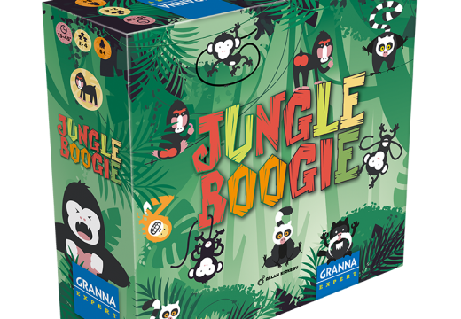 Jungle Boogie je nová hra s opicemi v džungli