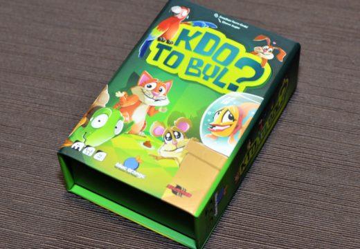 Kdo to byl? je dětská funny hra, která baví i dospělé