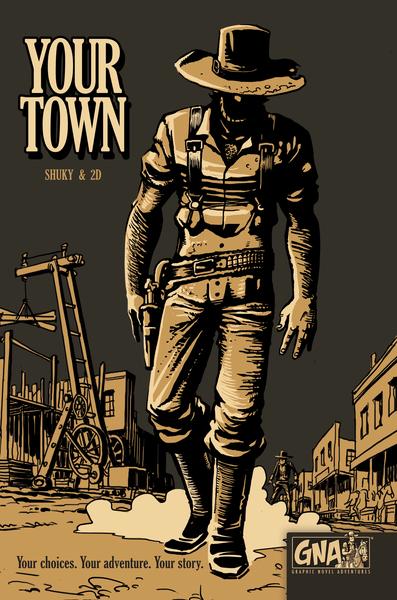 REXhry oznámily další komiksovou knihu – Your Town