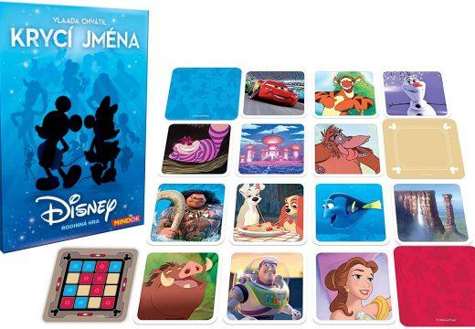 Krycí jména vyjdou ve variantě podle Disneyho filmů