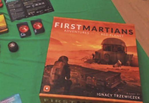 Hráč Kubrt představuje hru First Martians, kterou REXhry vydají v češtině